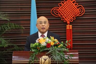 Zhou Li a Kína Kommunista Párt Központi Bizottsága Külügyi Osztályának Osztályvezetője