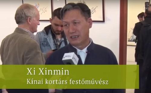 Xi Xinmin kínai festőművész interjúja
