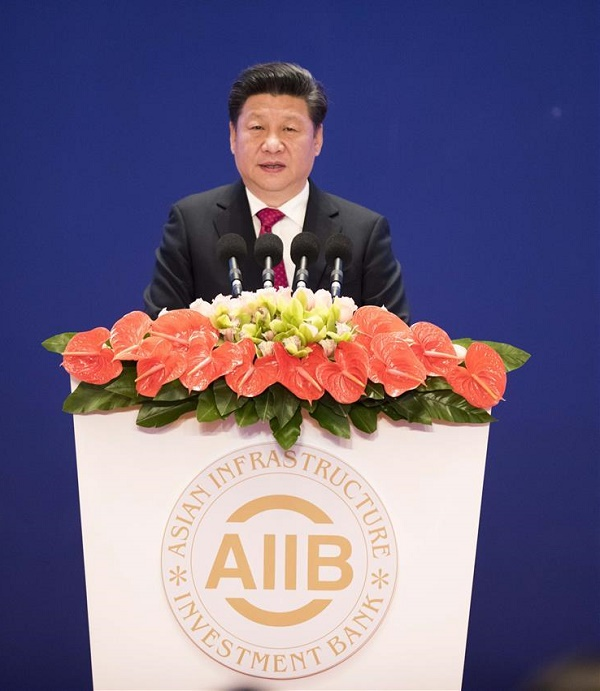Xi Jinping, AIIB