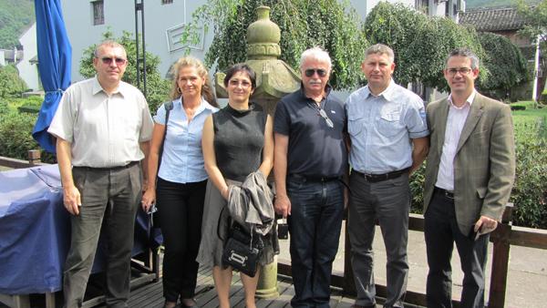 veszprémi delegáció