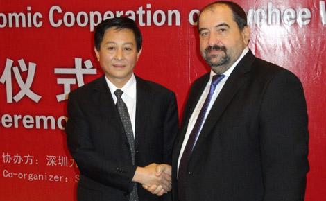 Testvérvárosi keretmegállapodás : Magasabb szintre emelkedett Kalocsa-Shenzen kapcsolata