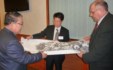 Érd és kínai testvérvárosa, Xuzhou a kultúra és a gazdaság területén is együttműködne
