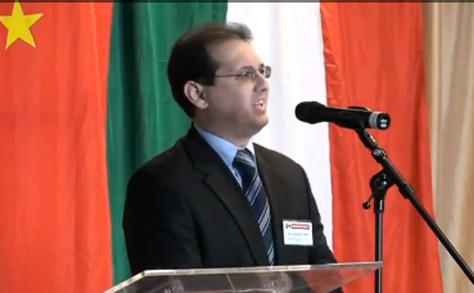 Dr. Koszmáli József (Eximbank) beszéde a kínai exportfinanszírozásról