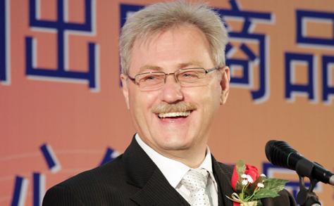 Rudolf Riedl, az AsiaCenter ügyvezetőjének megnyitó beszéde