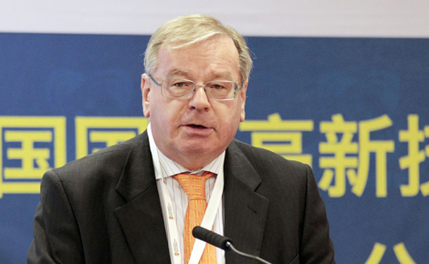 Lőrincze Péter (VOSZ) előadása a China High-Tech Fair-en