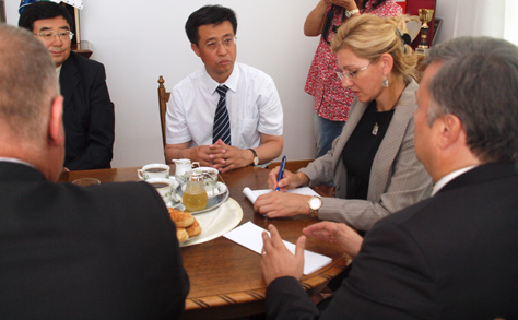 A kínai Yichun város Mátészalkával szeretne testvérvárosi kapcsolatot kialakítani