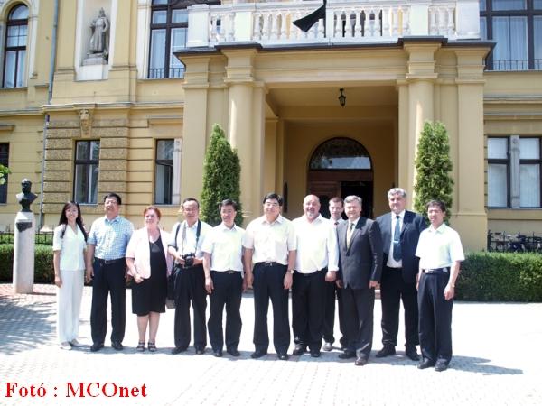 A kínai Heilongjiang Tartomány delegációja