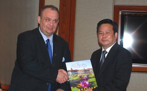 A gyógyászat és a turizmus területén működne együtt Hévíz kínai testvérvárosával