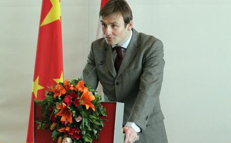 Bukvai Károly,a HITA elnöki főtanácsadójának előadása a Kantoni Vásárról