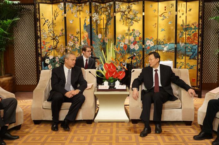 Manninger Jenõ, a Zala Megyei Közgyûlés elnöke Kínában
