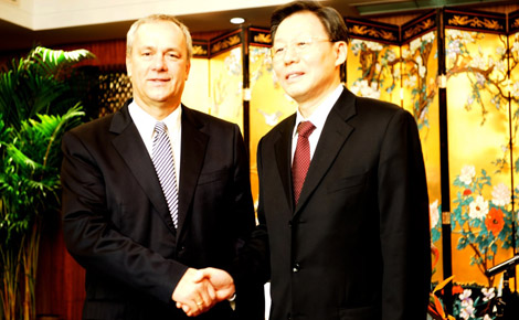 Zala megye és Jiangsu Tartomány együttműködése a befektetés ösztönzésre is kiterjed