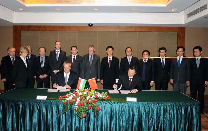 együttműködési megállapodást írt alá Zala megye és a kínai Jiangsu Tartomány.