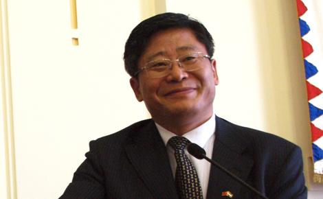 Sun Dong Sheng a II. Magyar és Kínai Önkormányzatok Partnerségi Konferenciáján