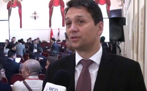 Tóth Attila a II. Magyar és Kínai Önkormányzatok Partnerségi Konferenciáján