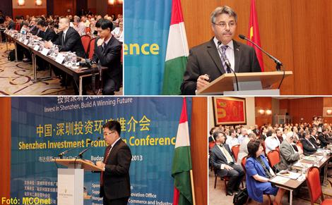 Az Shenzhen Investment bemutatkozó konferencia előadásai