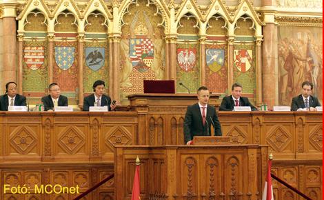 A Kínai-Magyar Üzleti Fórum előadásai a Parlamentben
