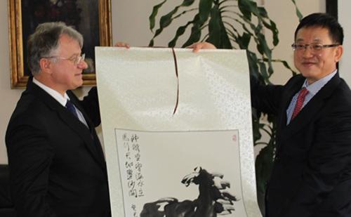 Fejér megye elnöke fogadta Jilin tartomány alelnökét