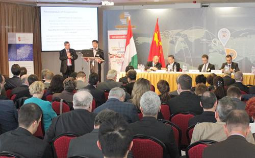 Kínai-Magyar Üzleti Fórum a Budapest China Martban - Előadások