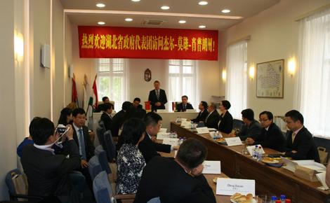 Győr-Moson-Sopron megye és Hubei együttműködési akciótervet írt alá