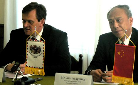 Gazdasági és kereskedelmi kapcsolatait is erősítené Heilongjiang és Szabolcs-Szatmár-Bereg Megye