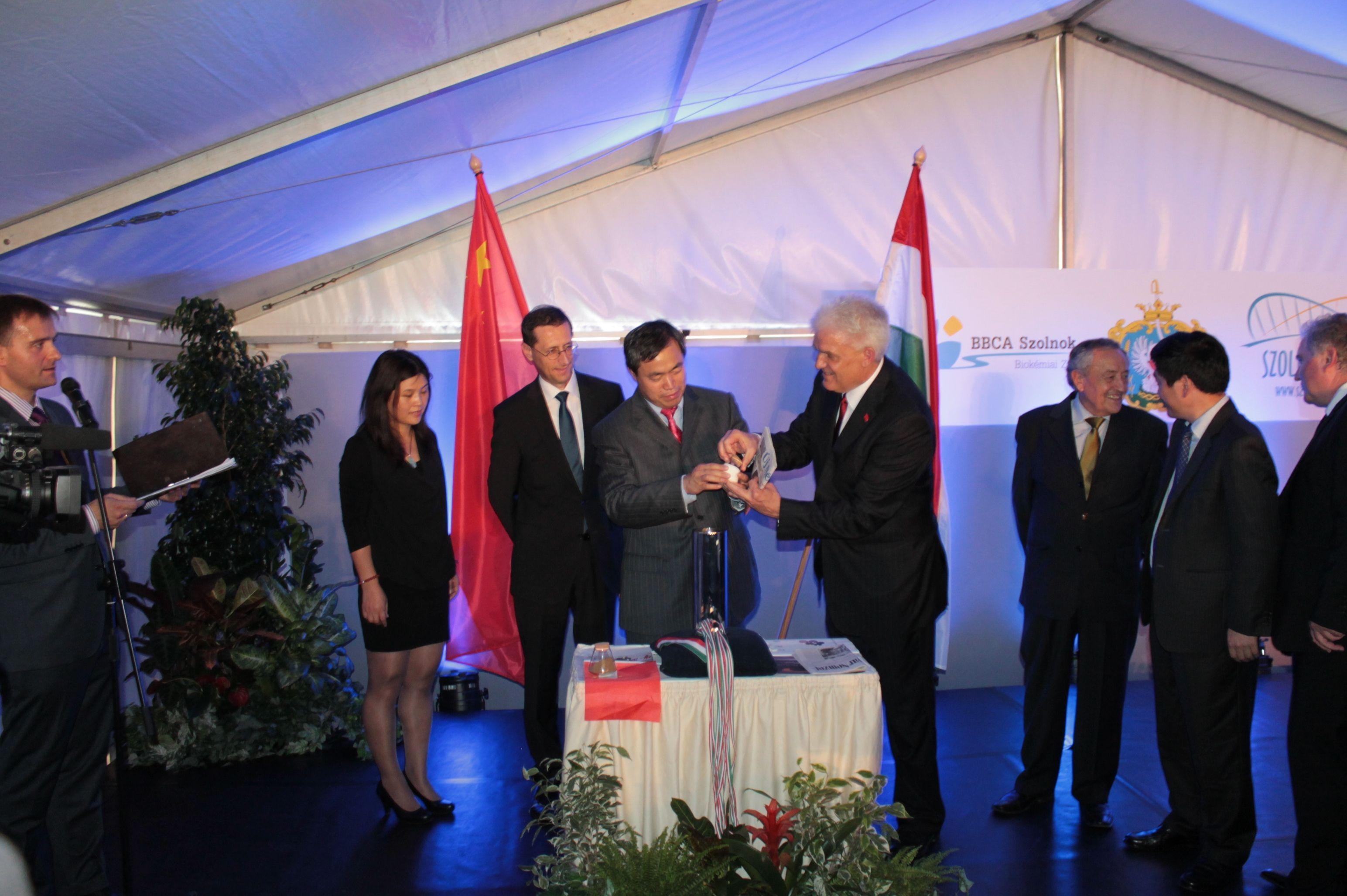 citromsavgyár beruházás, Varga Mihály miniszter, kínai beruházás