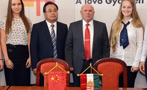 Wuhan és Győr alpolgármesterei iskolai ösztöndíjprogramról egyeztettek