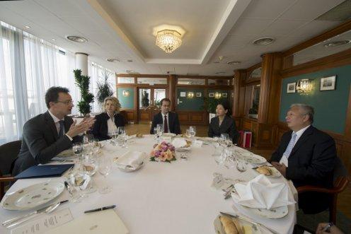 Szijjártó Péter külgazdasági és külügyminiszter, Kínai Népköztársaság új nagykövete, Duan Jielong