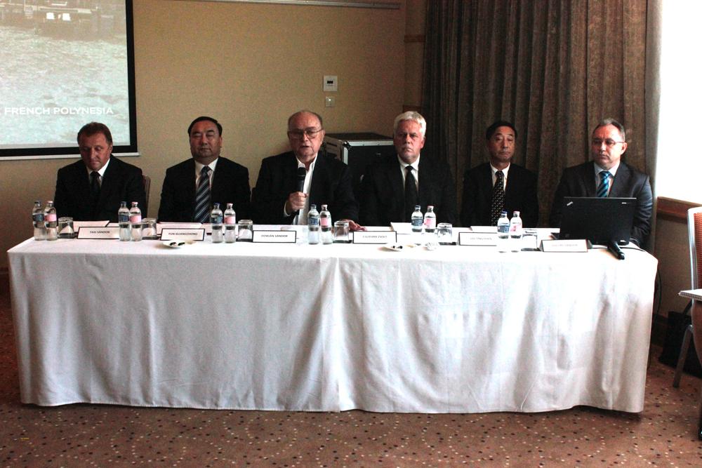 Demján Sándor, a VOSZ elnöke , Kína, Belső-Mongólia