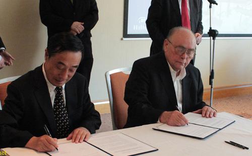 Belső-Mongólia tartomány üzletember delegációját fogadta a VOSZ