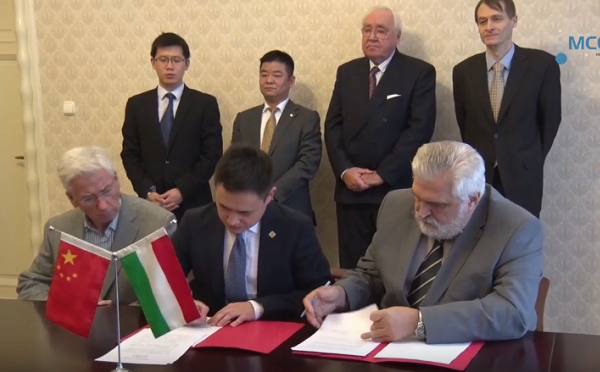 Együttműködési megállapodás a magyar-kínai innovációs projektek ösztönzésére