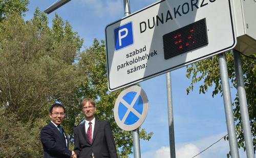 Intelligens parkolás a ZTE közreműködésével