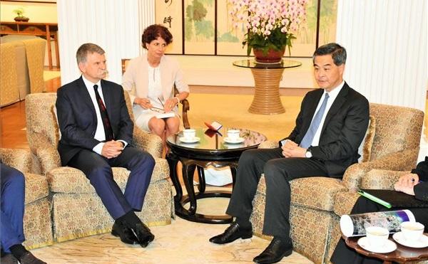 Magyar házelnök először látogatott Hongkongba és Makaóra