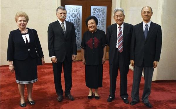 Kövér László, az Országgyűlés elnöke Pekingben járt