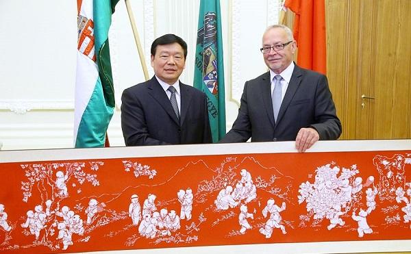 Shaanxi tartomány és Csongrád megye kapcsolata