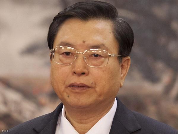 Csang Tö-csiang, a kínai törvényhozás elnöke
