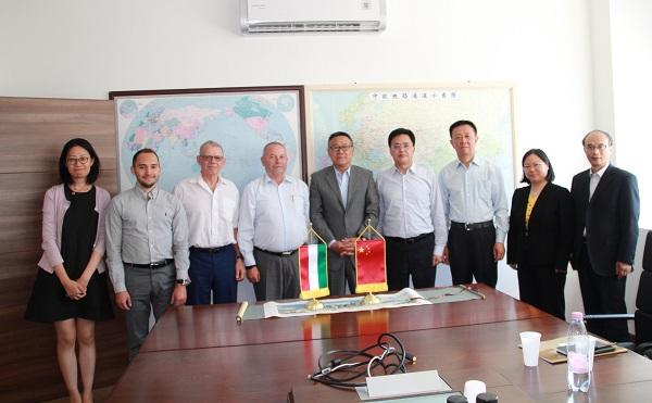 Shanghai delegáció tárgyalt a ChinaCham Hungary-vel