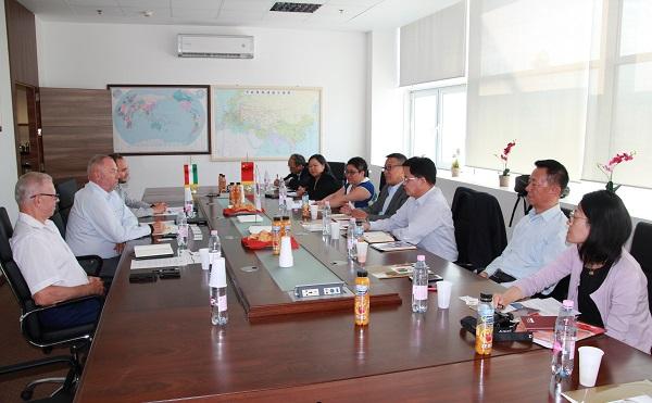 Chinese People's Political Consultative Conference Shanghai delegációja tárgyalt a Magyar-Kínai Gazdasági és Kereskedelmi Kamarával