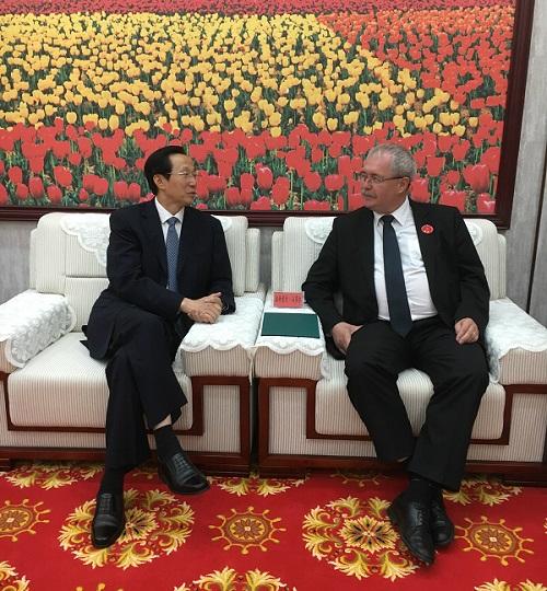Fazekas, Sándor földművelésügyi miniszter ismét Kínában tárgyalt