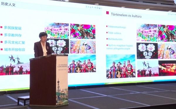 Testvérvárosi együttműködés is felmerült Xining városával