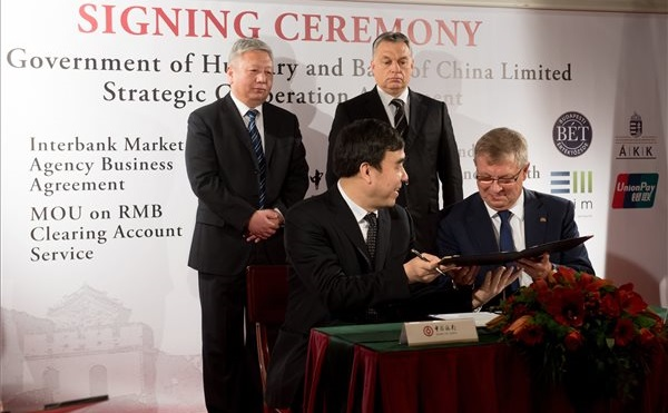 Stratégiai megállapodásokat kötött a Bank of China