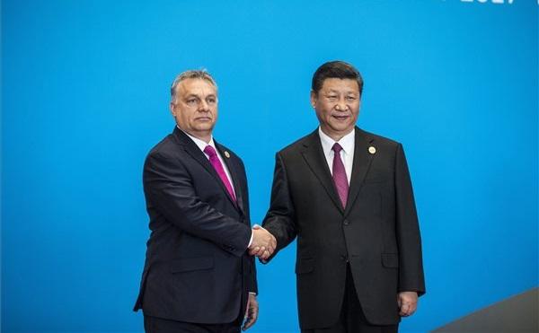 Orbán Viktor Pekingben: Orbán Viktor miniszterelnök és Hszi Csin-ping kínai elnök