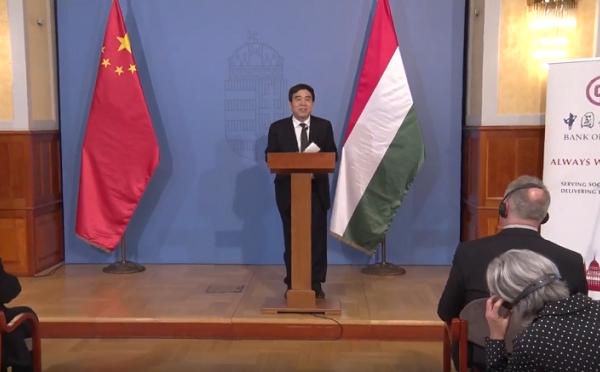 Tian Kuo-li: a BAC továbbra is elkötelezett abban, hogy támogassa Magyarország gazdasági és társadalmi fejlődését