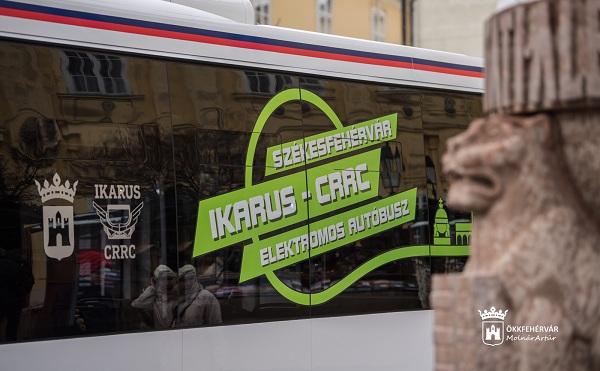 Kínai-magyar együttműködésben valósult meg elektromos busz