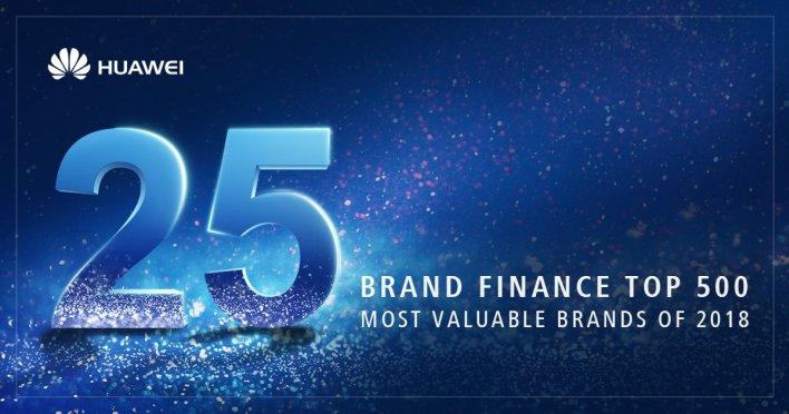 A Huawei a 25. helyre került az idei Global 500 rangsorban a tavalyi 40. helyezés után
