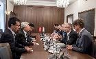 A kínai nagykövettel találkozott Nagy István