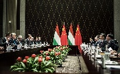 A kínai államfővel tárgyalt Orbán Viktor