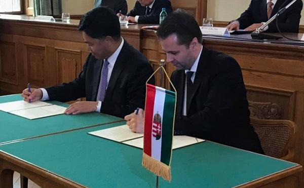 Magyar-kínai üzletember-találkozót tartottak