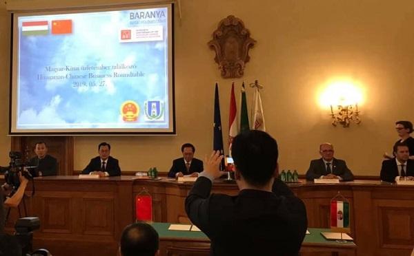 Magyar-kínai üzletember-találkozót tartottak - fotók: komlomedia.hu