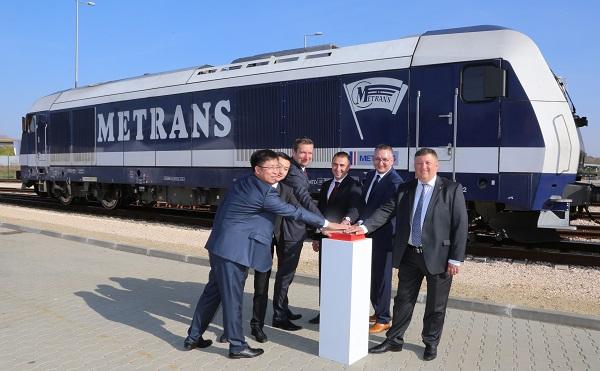 Elindult a METRANS csoport Budapestről Kínába tartó első konténervonata