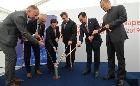 Kínai nagyvállalat naperőművének alapkövét rakták le